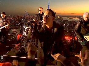 U2 prepara documental sobre su gran gira de este año