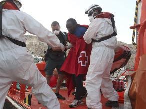 Más de 600 inmigrantes intentaron cruzar el canal de la Mancha
