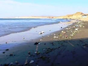 Pacasmayo: fuerte oleaje afecta varias cuadras de malecón Grau