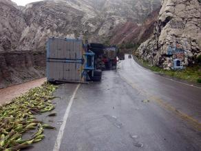 Despiste de camión dejó cinco muertos en carretera Cajamarca - Celendín