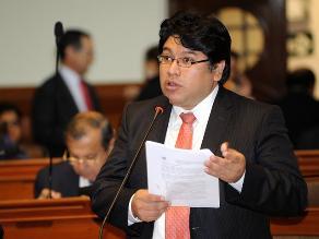 Perú Posible ratificó a Rennán Espinoza como su vocero