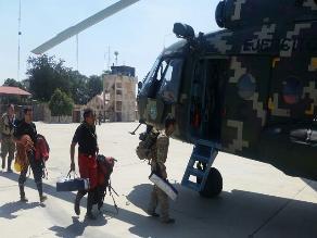 Ayabaca: clima impide continuar con rescate aéreo