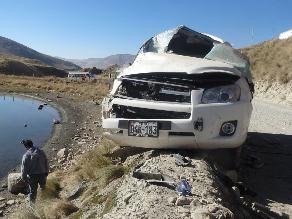 Arequipa: dos gestantes resultaron heridas tras un accidente de tránsito
