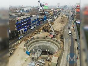 Línea 2 del Metro de Lima: obras avanzan en Carretera Central