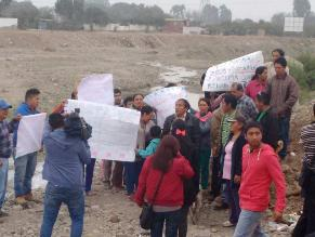 WhatsApp: denuncian presencia de aguas servidas en río Lurín