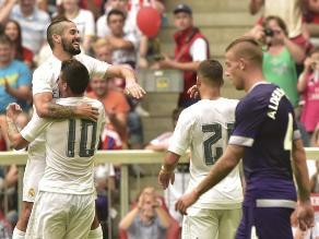 Real Madrid venció al Tottenham y avanzó a la final de la Audi Cup