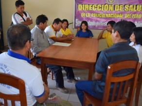 Satipo: alcaldes brindan apoyo a rescatados de Sendero Luminoso