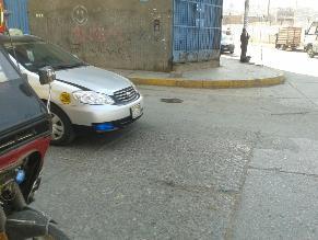 Huancayo: buzón en pista pone en riesgo vida de conductores