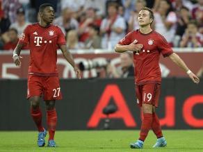 Audi Cup: Bayern Munich golea al Milán y chocará con Real Madrid
