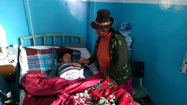 Arequipa: tumor de gran tamaño aqueja a menor de 6 años