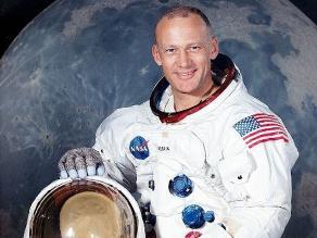 Astronauta Buzz Aldrin reveló cuánto gastó en viáticos para su viaje a la Luna