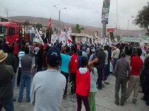 Tía María: marchas pacíficas continuarán afirma dirigente