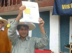Cajamarca: detienen al alcalde del distrito de la Asunción Juan Torrel