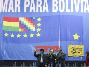 Bolivia celebra que Chile plantee ir a la Corte de La Haya