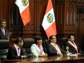 Congreso aprobó cuadro de comisiones para el periodo 2015-2016
