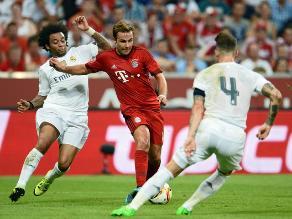 Bayern Munich venció 1-0 al Real Madrid y es campeón de la Audi Cup
