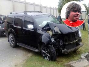 Raúl Orlandini se vio envuelto en accidente de tránsito en el Callao
