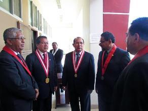 Tumbes: presidente del PJ inauguró Juzgados de Flagrancia