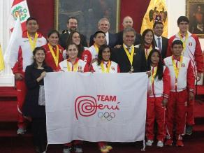 Municipalidad de Lima premió a medallistas en Juegos Panamericanos Toronto 2015