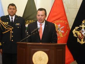 Ministro de Defensa: Sendero Luminoso no está exterminado