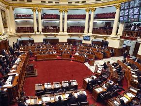 Este jueves se define la conformación de comisiones en el Congreso