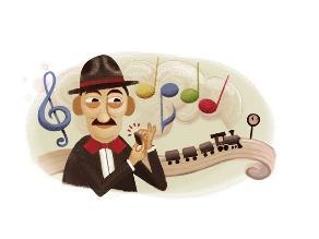 Doodle celebra a ritmo de samba los 105 años de Adoniran Barbosa