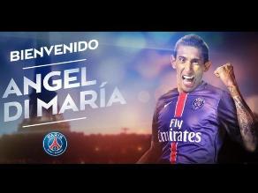 PSG hace oficial el fichaje del argentino Ángel Di María