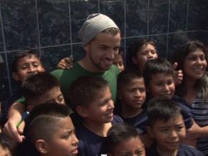 Alianza Lima: Gabriel Costa tuvo tremendo gesto con niños blanquiazules