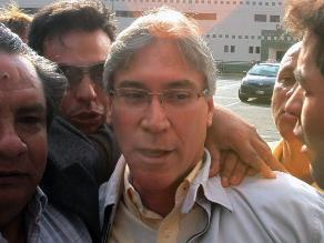 Aurelio Pastor rendirá manifestación por caso narcoindultos el 7 de septiembre