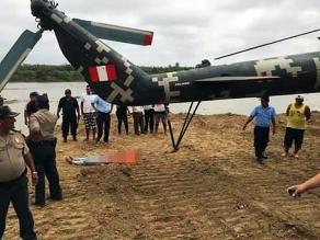 Familia de joven muerta por impacto de helicóptero viaja a Lima