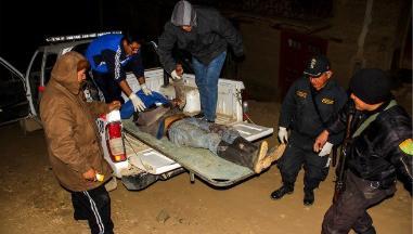 La Libertad: matan a sujeto que intentó asaltar vehículo de pasajeros