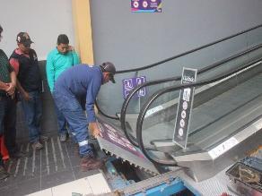 Chiclayo: cierran local comercial que tenía escaleras eléctricas riesgosas
