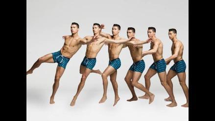 Cristiano Ronaldo luce sus músculos en su nueva colección de ropa interior   d840efb9332d