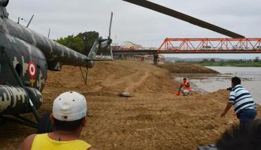 Tumbes: dictan libertad condicional a tripulantes de helicóptero