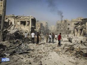 Siria: mueren 10 civiles en un bombardeo del régimen