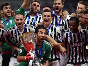 Juventus derrotó a la Lazio y ganó la Supercopa de Italia