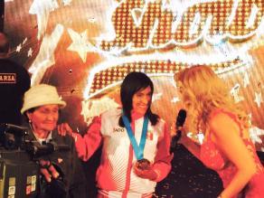 El Gran Show: Gladys Tejeda recibió homenaje
