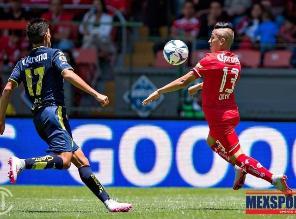 Toluca, con Christian Cueva, sufrió su primera caída en el fútbol mexicano