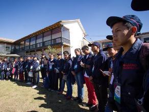 Cusco: con ceremonia despidieron a jóvenes ruteros del Qhapaq Ñan