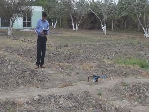 Lambayeque: INIA utiliza drones para analizar plagas de terrenos