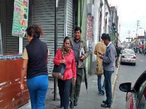 Temperatura llegó a los 0 °C en la ciudad de Arequipa