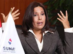 Tania Quispe deja la Sunat, este es su balance