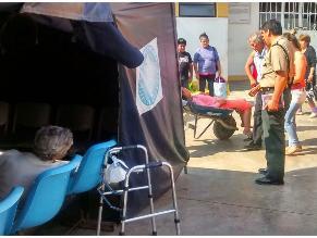 Derrumbe de techo en Huachipa: Denuncian demora en atención en hospital