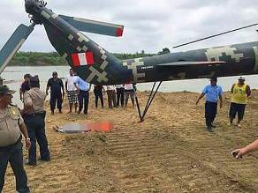 Tumbes: realizan peritaje a helicóptero que impactó contra universitaria