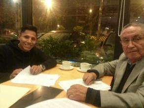 Universitario de Deportes: Raúl Ruidíaz firmó contrato con los merengues