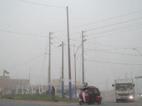 Vientos de gran velocidad obligaron un cierre total en Pisco