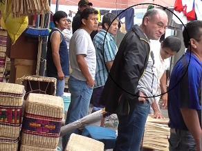 Roberto Torres fue captado durante requisa en penal de Chiclayo
