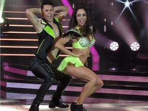 El gran show: Olinda Castañeda recibió el apoyo de Carlos Zambrano