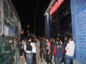 Chiclayo: intervienen a 500 menores en discoteca de La Victoria