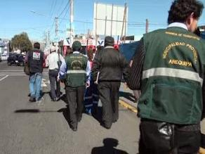 Aniversario Arequipa: inspeccionan ruta por donde pasará corso